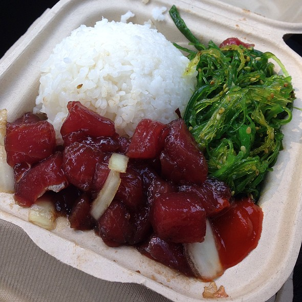 Hawaiian Poke @ Da Poke Shack
