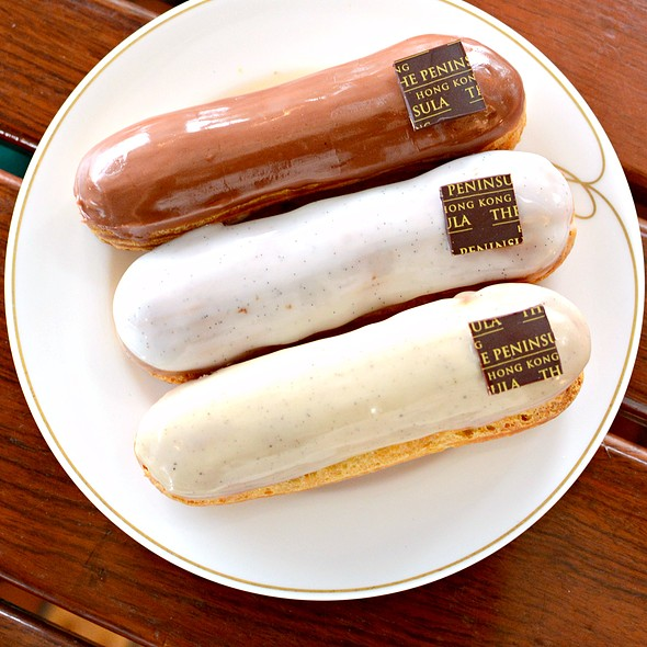 Eclairs @ The Peninsula Boutique
