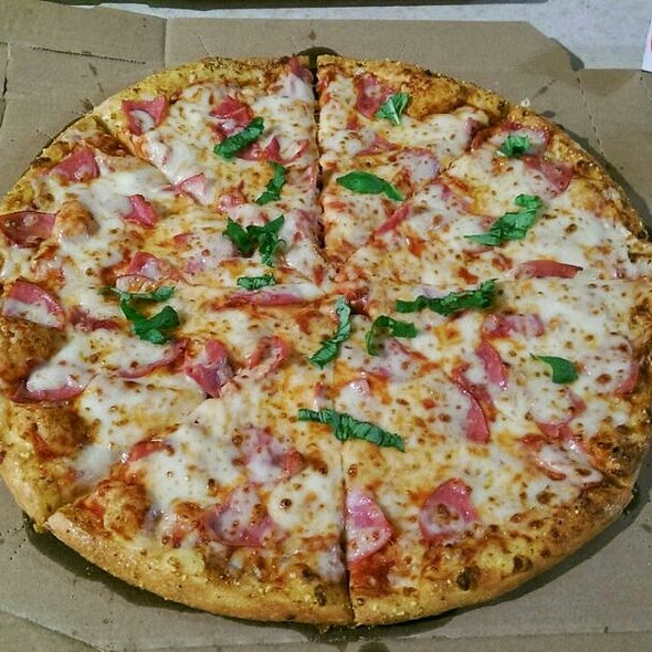 Large Pizza With Double Cheese, Ham and Provolone. @ Domino's Pizza