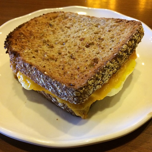 Egg & Cheddar Breakfast Sandwich @ Starbucks