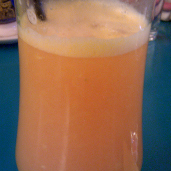 Fresh Squeezed Orange Juice @ (A happy) Playce