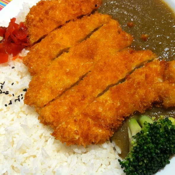 Curry with fried fish filet @ Coco Curry House Ichibanya