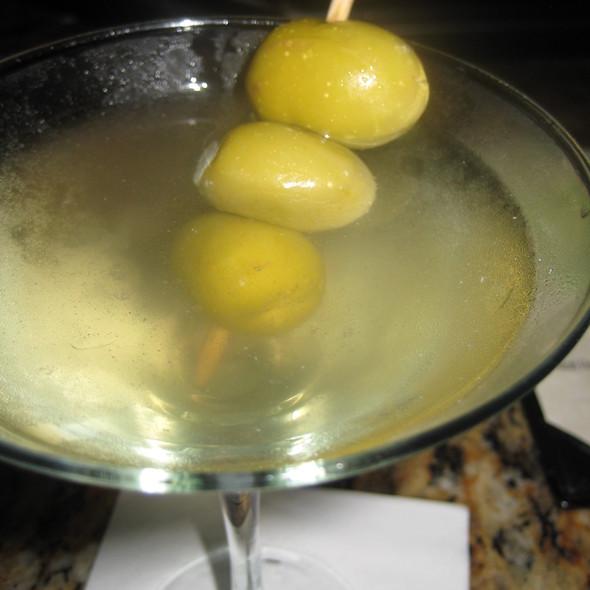 Bonefish Grill Dirty Vodka Martini Foodspotting