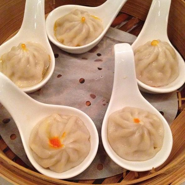 Pork and Crab Roe Soup Dumplings - M.Y. China, San Francisco
