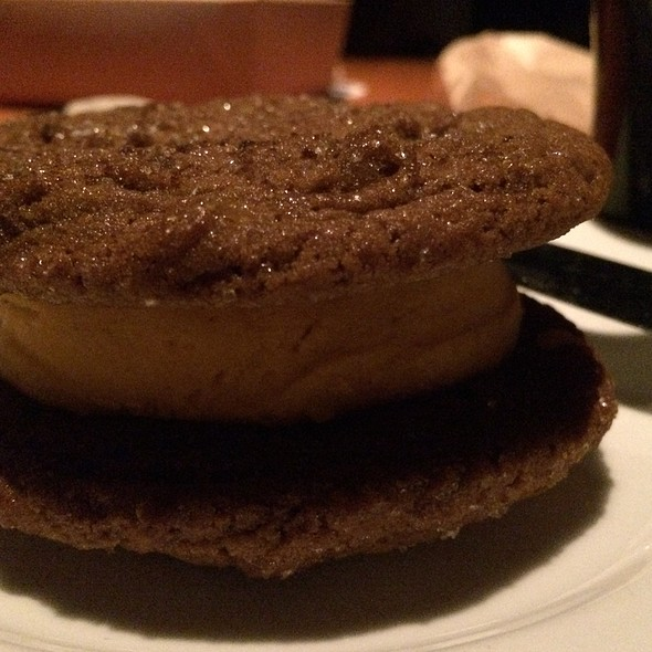 Gingerbread Ice Cream Sandwich