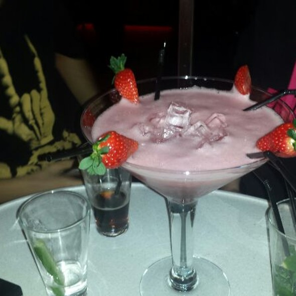 Giant Strawberry Margarita