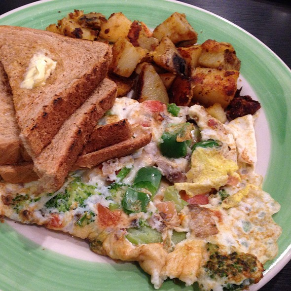 A Healthy One Omelet