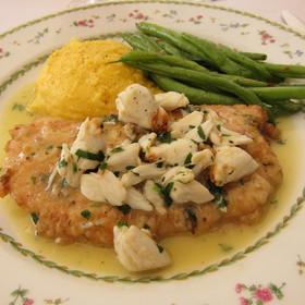 Chicken Milanese with Crabmeat - Renato's, Palm Beach, FL