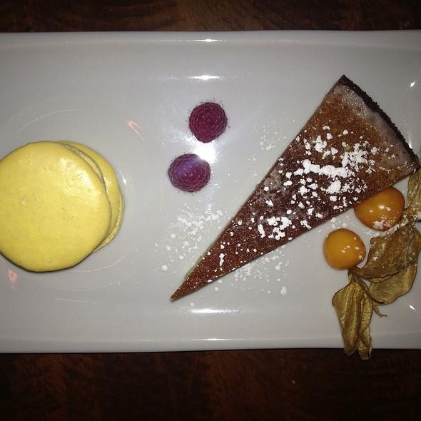 Lemon Macaroon - Onyx Restaurant, Halifax, NS