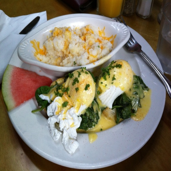 Eggs Florentine @ Blue Jay Cafe