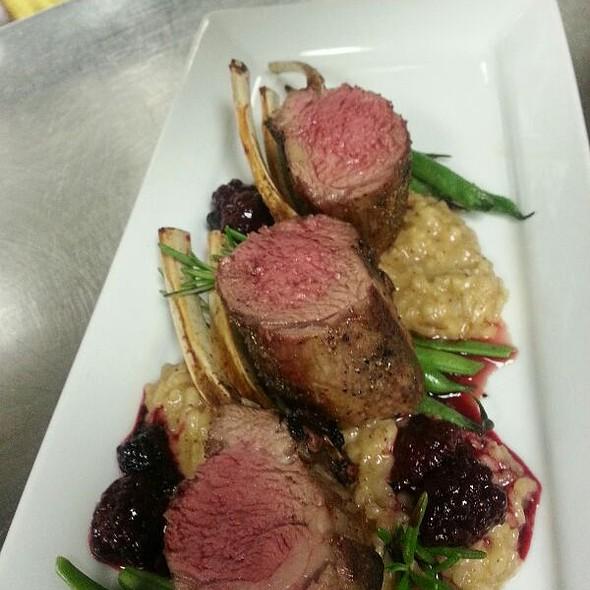 Rack of Lamb - LUX Steakhouse + BAR94, Edmonton, AB