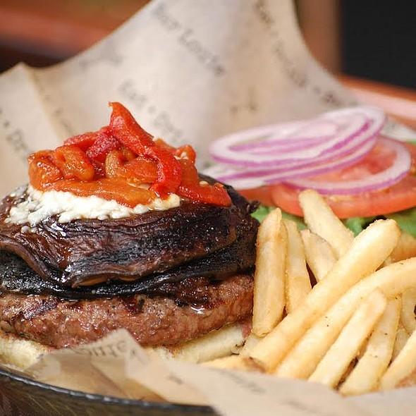 Portabella Burger - Bar Louie - Minnetonka
