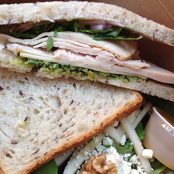 Turkey And Provolone Sandwich @ Kitchen 452