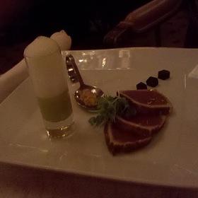 Big Eye Yellow Fin Tuna Sashimi - The Westgate Hotel - Sunday Brunch & Le Fontainebleau Room, San Diego, CA