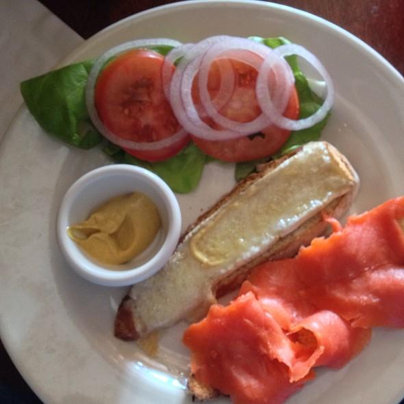 Brie & Smoked Salmon On Irish Soda Bread - Kells Irish Restaurant & Bar, Seattle, WA