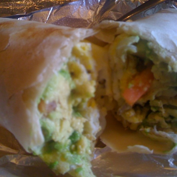 Egg And Avacado Wrap