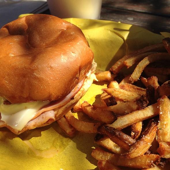 Brough Ham Fleetwood Sandwich @ Off Site Kitchen