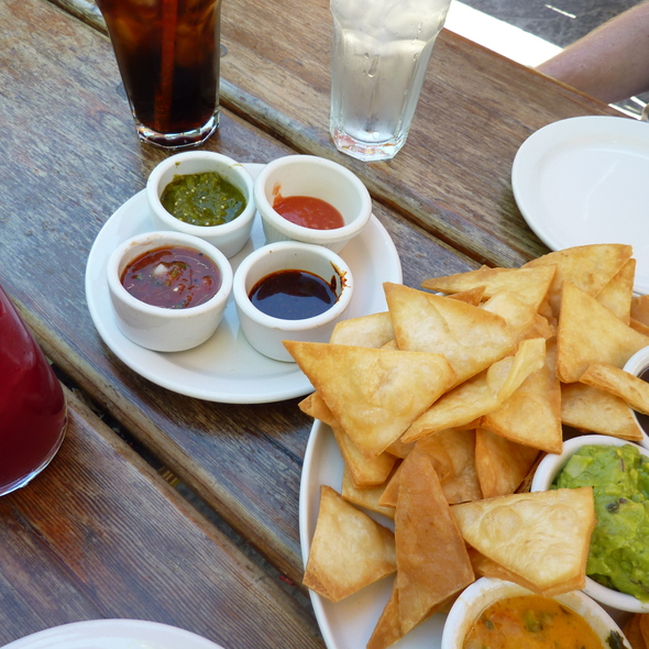 Chips and salsa sampler - SOUTH, Leavenworth, WA