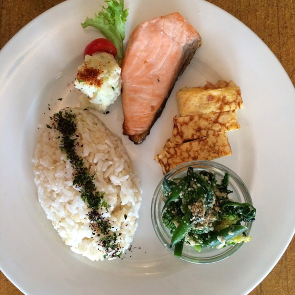 Traditional Japanese Breakfast @ Cibi
