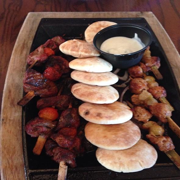 Chorizo & Beef Skewers @ Paradisso 37