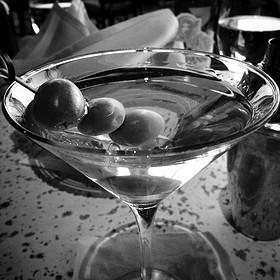 Blue Cheese Martini