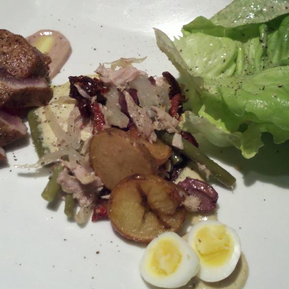 Porcini-crusted tuna loin @ Eventide