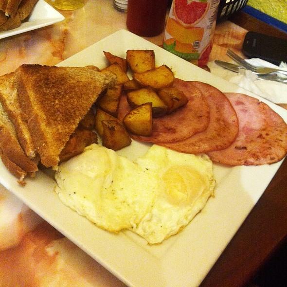 Jet Cafe Hamilton Menu