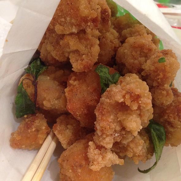 Popcorn Chicken @ Mr. Green Bubble