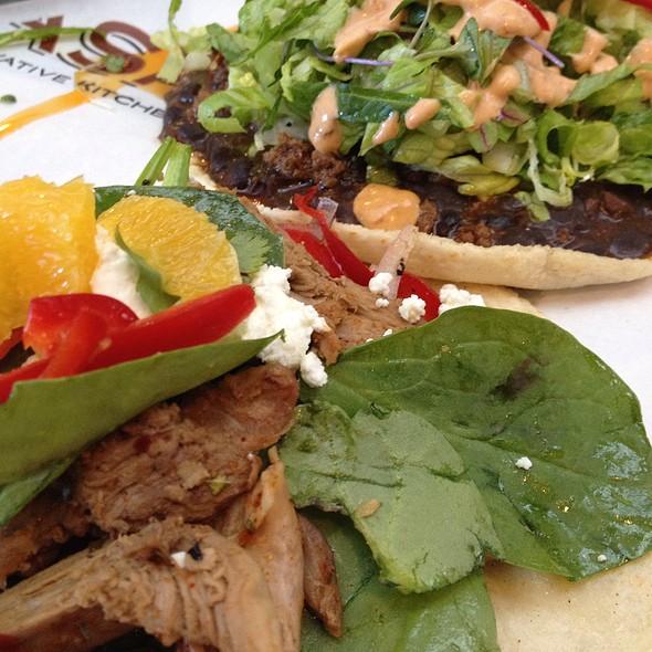 Rotisserie Duck Taco @ C CASA An Innovative Taqueria