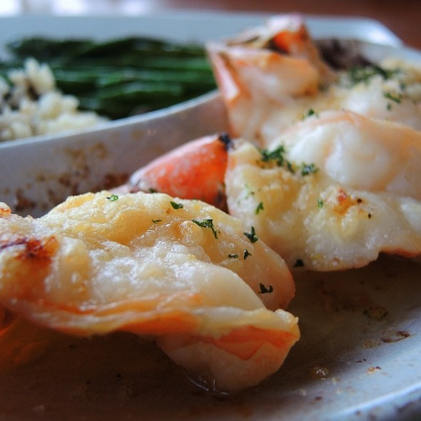 Roasted Scampi Prawns @ Anthony's Hearthfire Grill