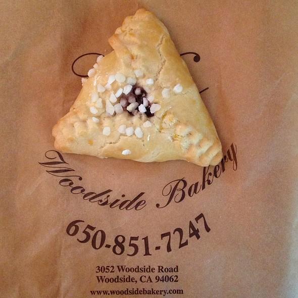 Raspberry Hamantashen - Woodside Bakery & Cafe, Woodside, CA