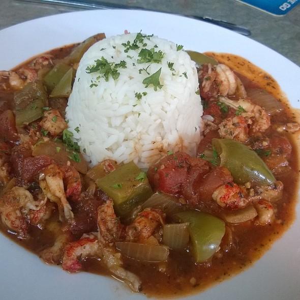 Crawfish Creole @ Riverbend Restaurant and Bar