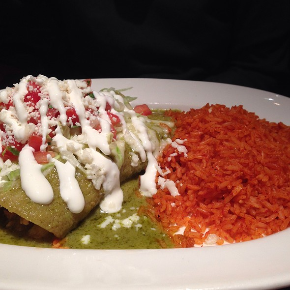 Chicken Enchiladas - The Happ Inn, Northfield, IL