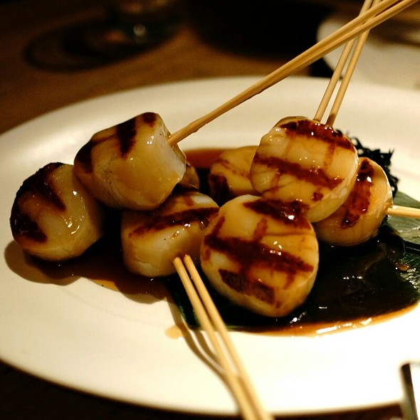 Scallops Skewers @ Nobu Berkeley