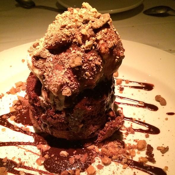 Chocolate Lava Cake - Chart House Restaurant - Redondo Beach, Redondo Beach, CA