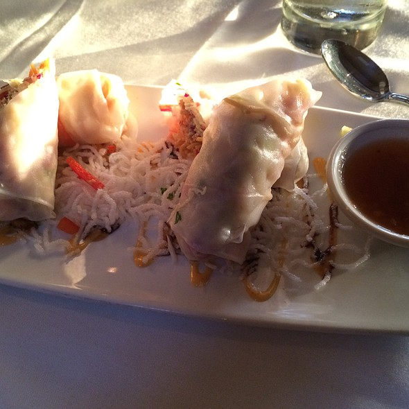 Seafood Springrolls - Chart House Restaurant - Redondo Beach, Redondo Beach, CA