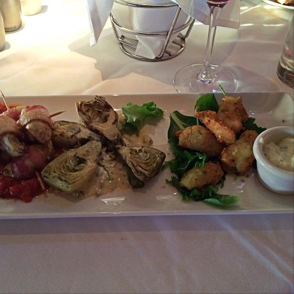 Artichoke Three Ways - Chart House Restaurant - Redondo Beach, Redondo Beach, CA