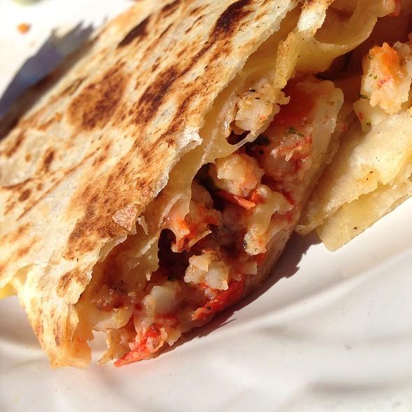 Shrimp Quesadillas @ The Soggy Peso