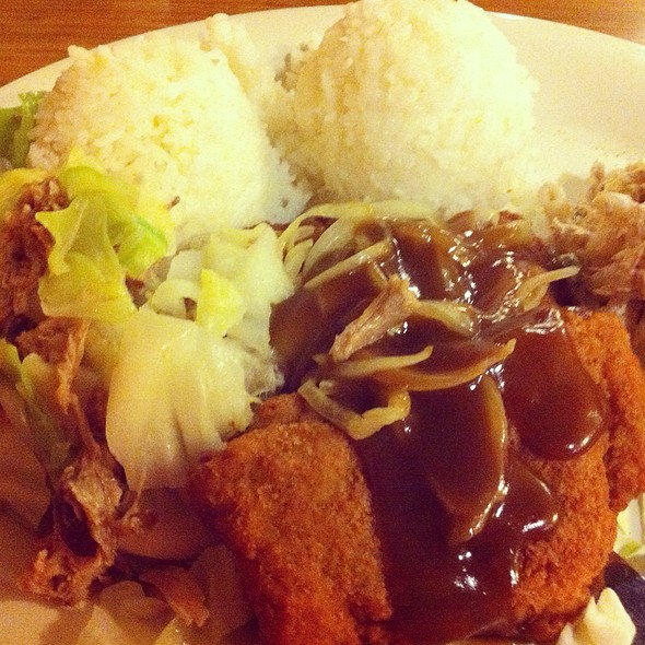 Chicken Fried Steak & Kalua Pork