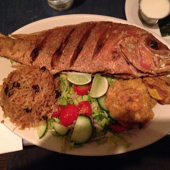 Fried Red Snapper @ Bogota Latin Bistro