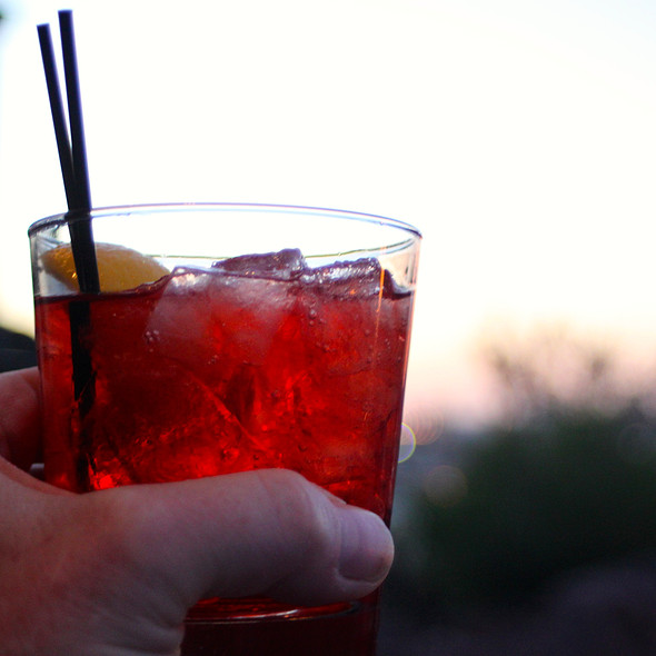 Negroni - Top of the Rock Restaurant at the Marriott Buttes Resort, Tempe, AZ