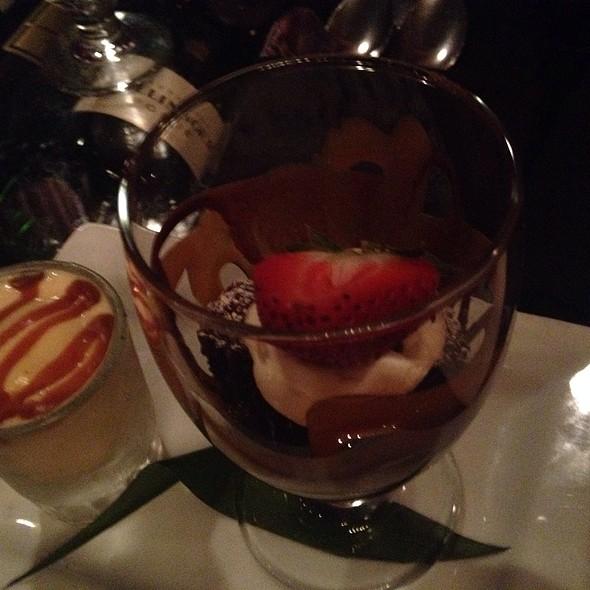 Irish Car Bomb - Chocolate And Guinness Cake - POP Champagne Bar & Restaurant, Pasadena, CA