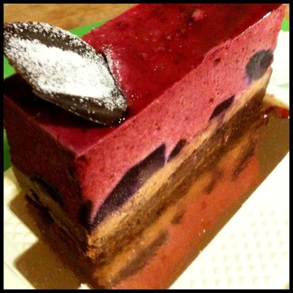 Cassis Mousse Cake @ Takahachi Bakery