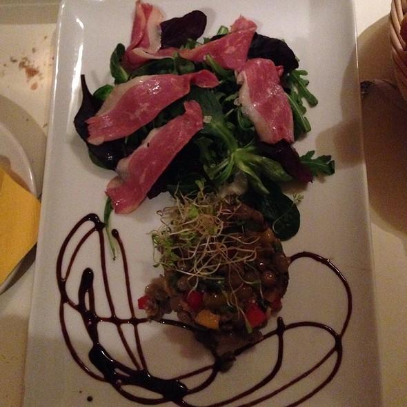 Smoked Duck Salad & Lentils