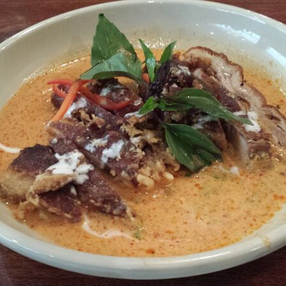 Crispy Duck in Panang Curry @ Lotus of Siam