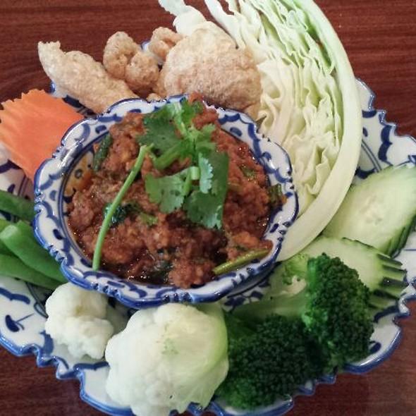 Nam Prik Ong  @ Lotus of Siam