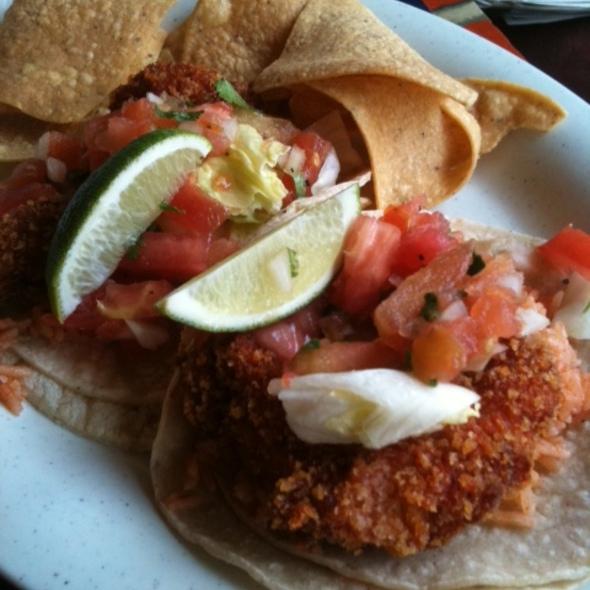 fish tacos @ El Metate Restaurant