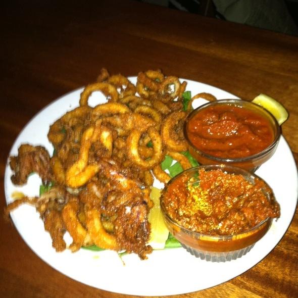 Fried Calamari @ Joe Squared Pizza & Bar