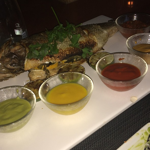 Loup De Mer With 5 Sauces