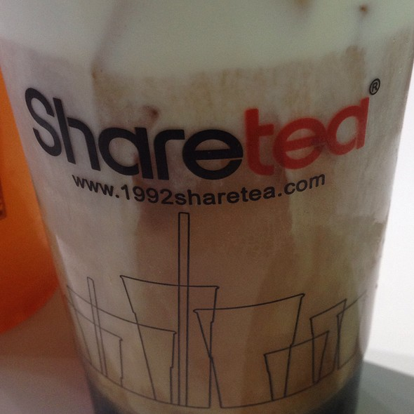 Black Tea Creama @ Sharetea